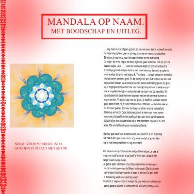 Mandala op Naam - Conny Hogervorst Akasha reader